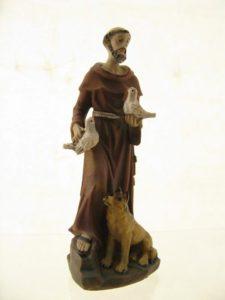 Św. Franciszek - poliresing 11,5cm