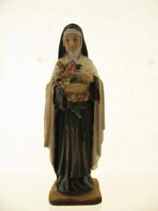 Św. Teresa - poliresing 12cm