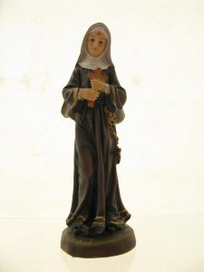 Św. Rita- poliresing 13cm