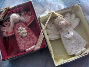 Aniołki w pudełkach