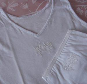 Komplet bielizny dziewczęcej - szersze ramiączka