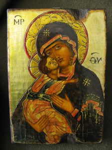 Ikona wykonana ręcznie