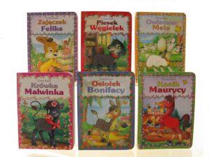 Małe książeczki dla najmłodszych (twarde, kartonowe strony)