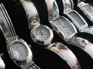 Srebrne zegarki