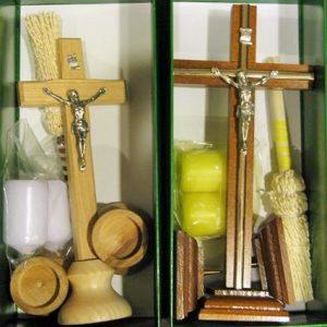 Drewniane komplety kolędowe