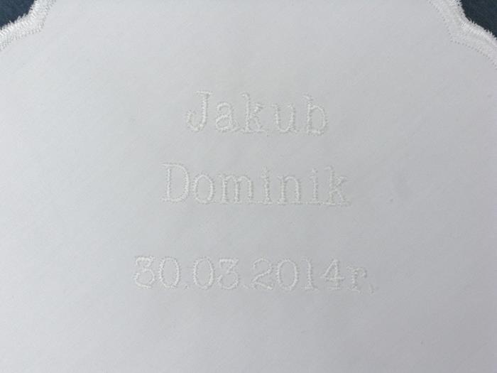 Haft przykładowy - Jakub