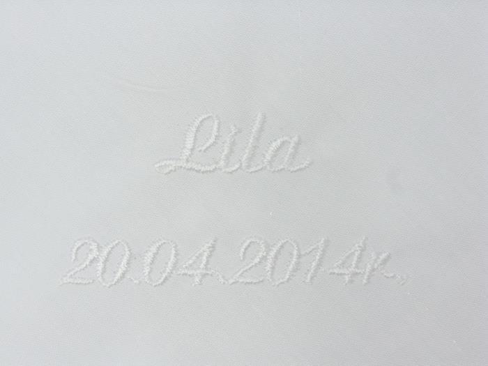 Haft przykładowy - Lila