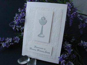 Zaproszenie wykonane ręcznie