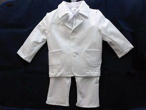 Komplet z bawełny.Koszula z muszką, spodenki, marynarka, czapeczka