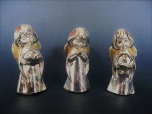 Posrebrzane figurki aniołków350