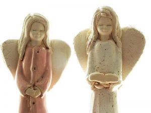 Anioły ceramiczne