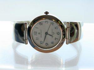 Srebrny zegarek
