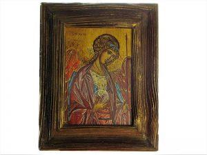 Archanioł Michał - obraz malowany ręcznie