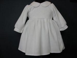 Sukienka do Chrztu z polaruW komplecie z kapelusikiem